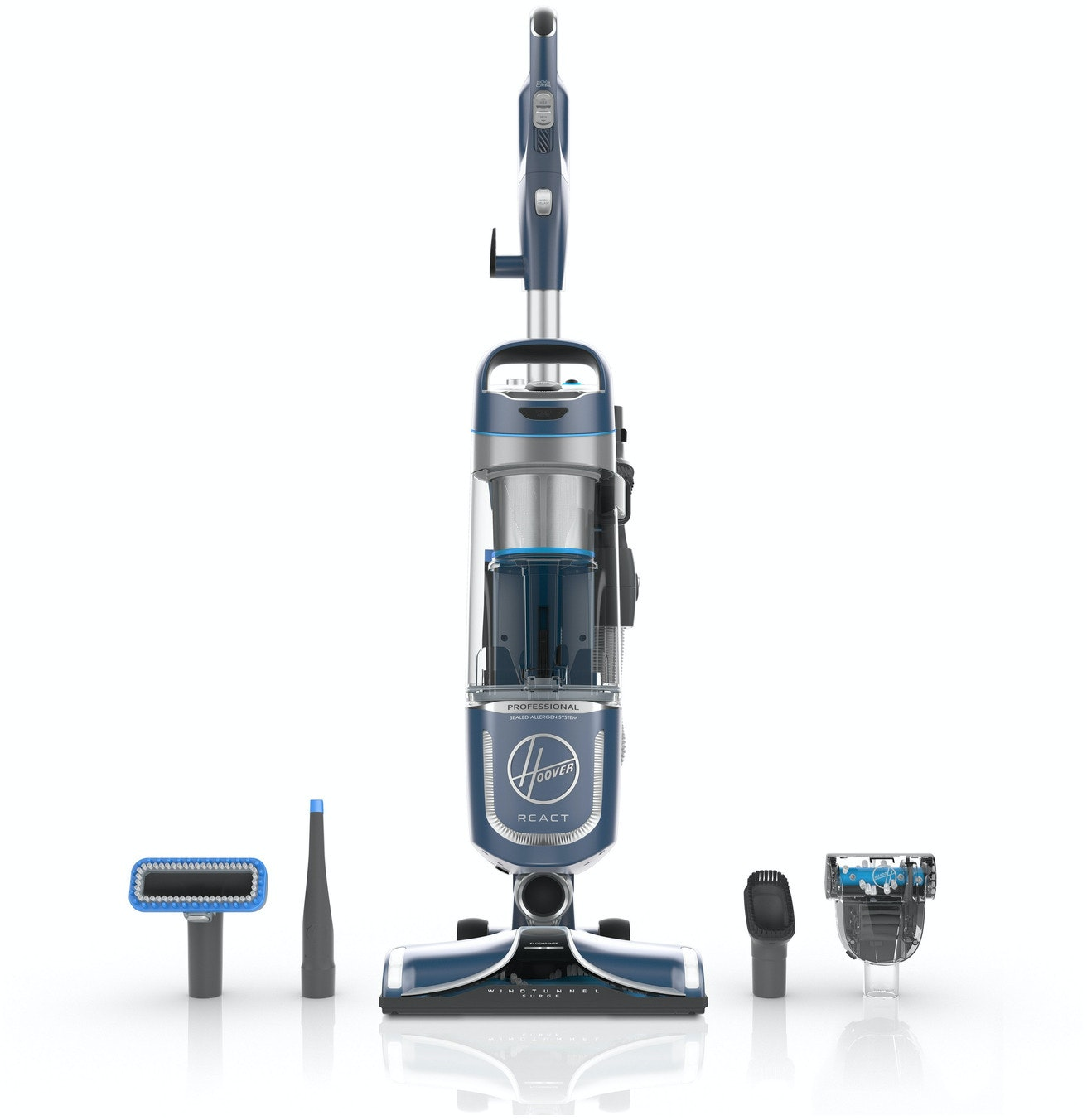 React Professional Upright Vacuum