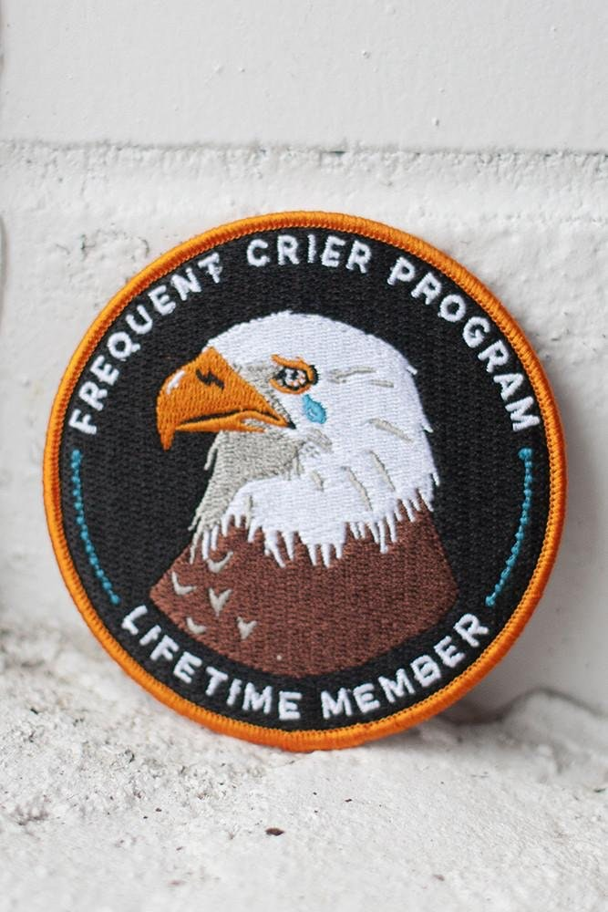 Frequent Crier Patch- Stay Home Club