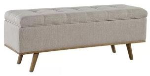 George Oliver Valerio Upholstered Storage Bench
