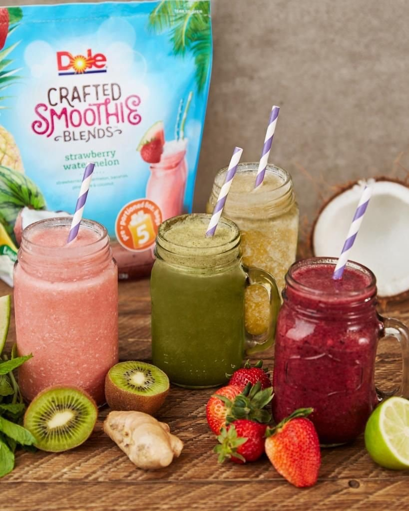 Dole Crafted Smoothie Blend