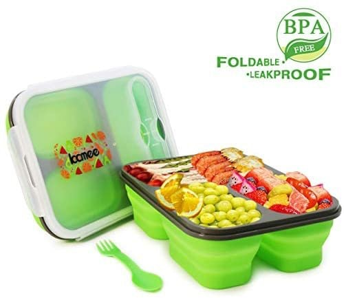 Kcmee Foldable Kids Bento Box