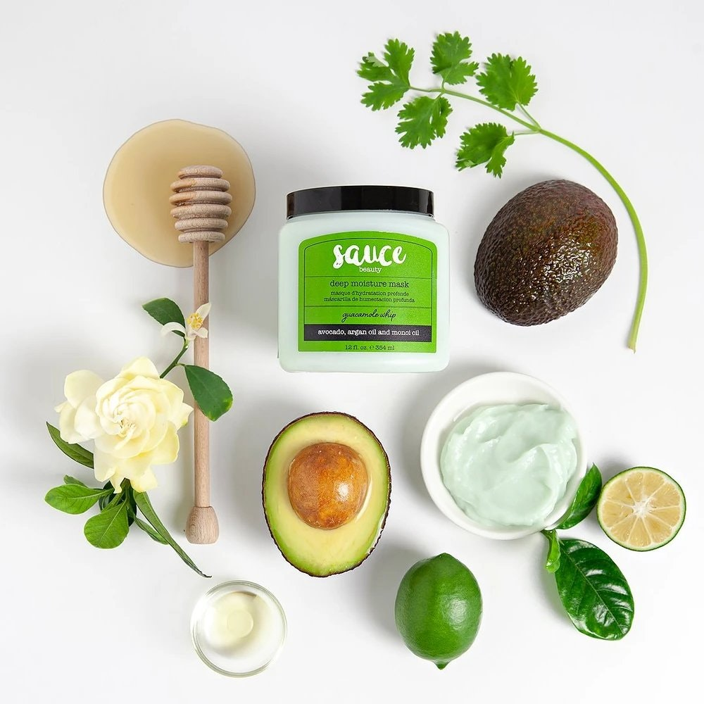 Sauce Beauty Guacamole Whip Deep Moisture Hair Mask