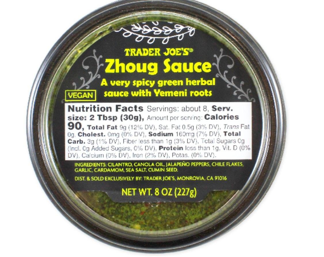 Trader Joe's Zhoug Sauce