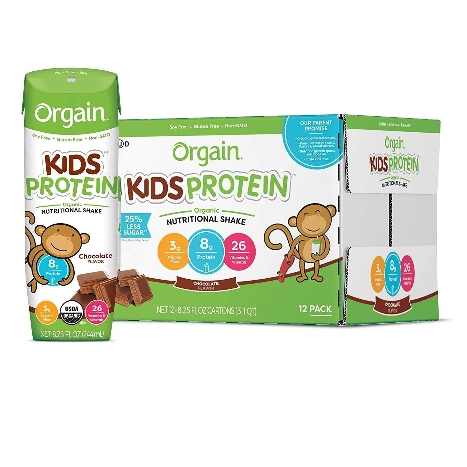 Orgain Protein Shakes for Kids