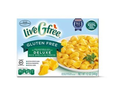 Live G Free Deluxe Rice Shells & Cheese