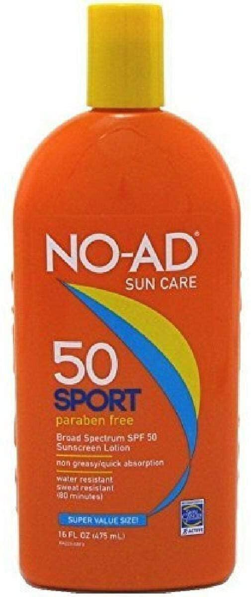 No-Ad Sport Sunscreen Lotion SPF 50