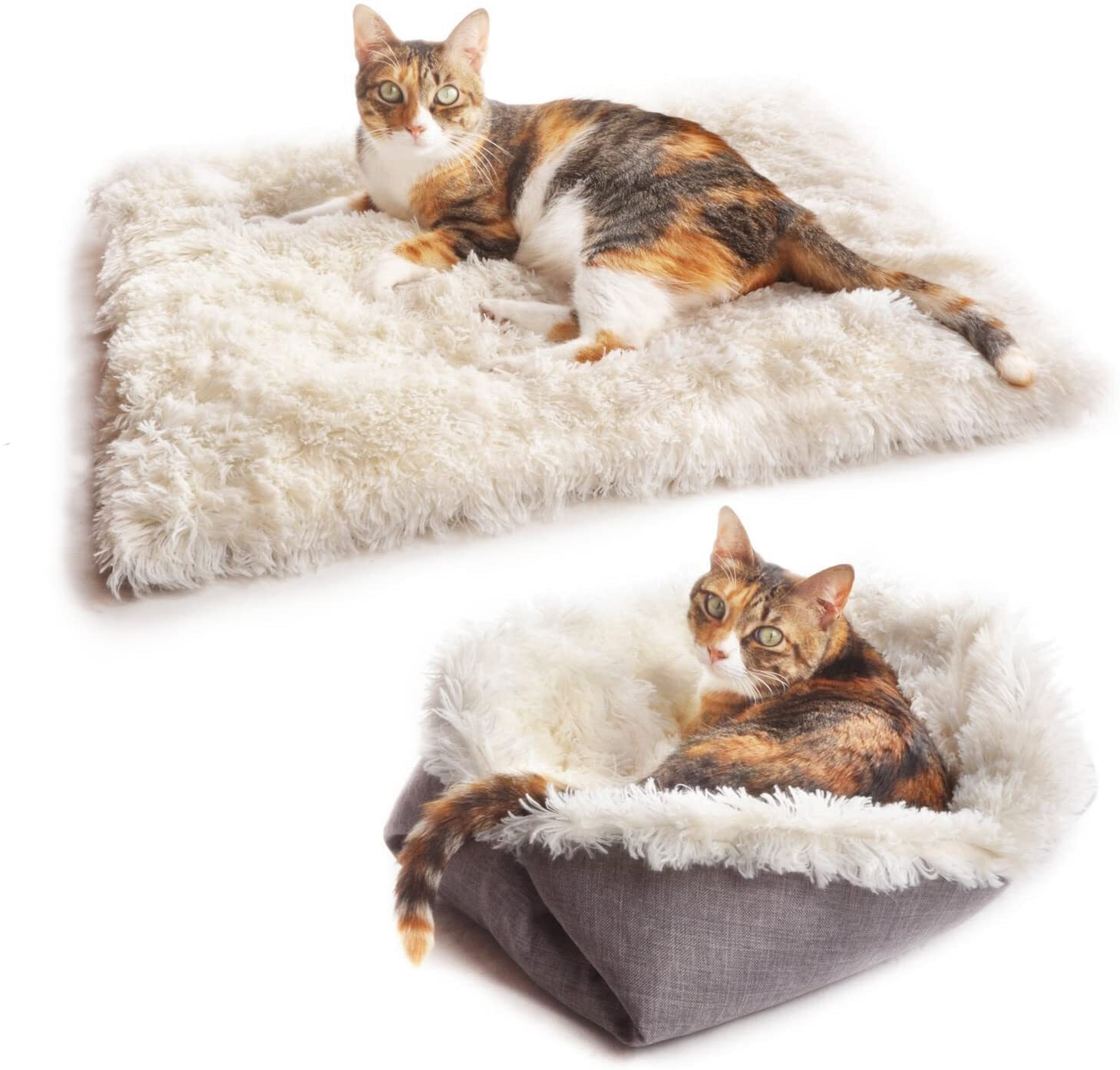 4Claws Furry Pet Bed
