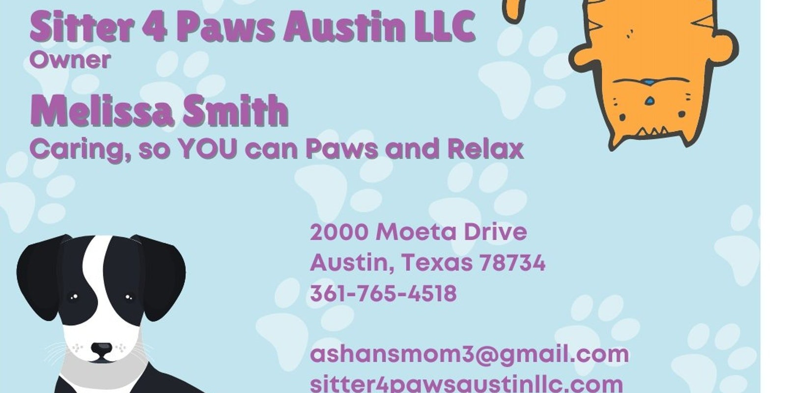 Sitter 4 Paws Austin LLC