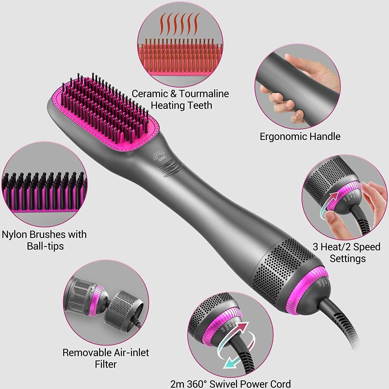 Apoke Brush Hair Dryer