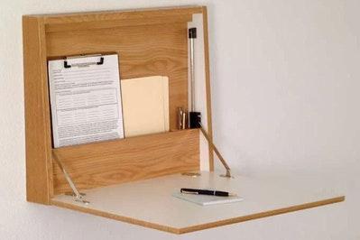 Andover Mills Sanner Fold-Away Floating Desk