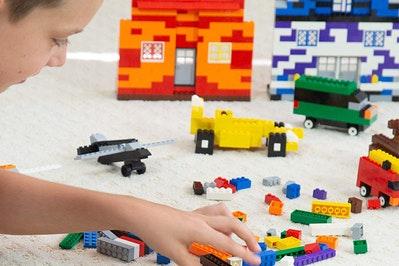 Play Platoon 1100 Piece Building Bricks Kit