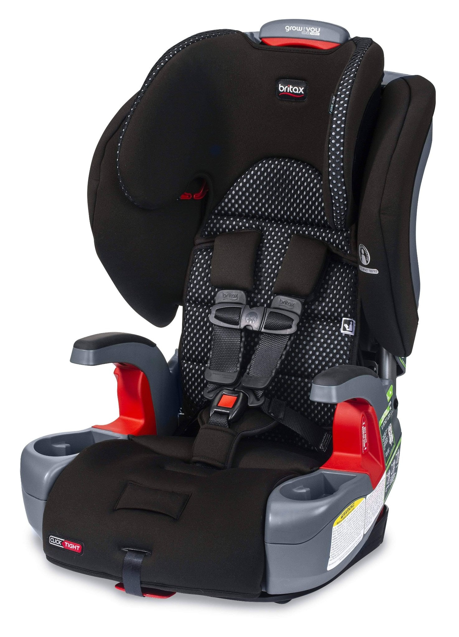 Britax Grow With You Clicktight Harness-2-Booster Car Sea