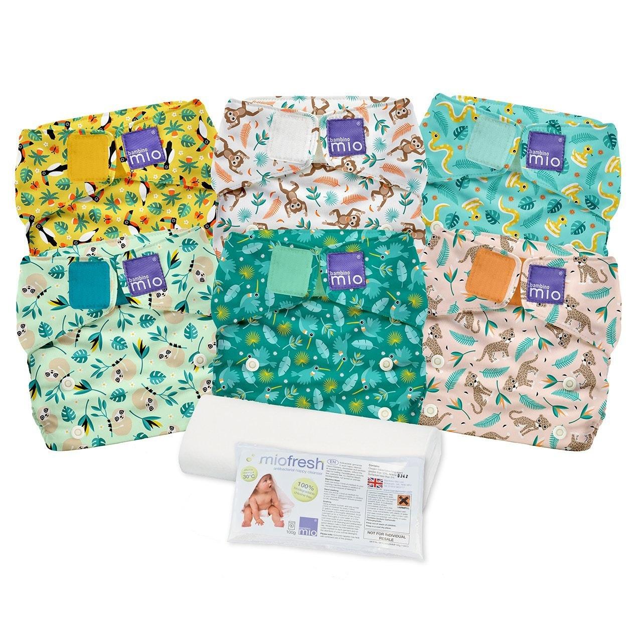 Bambino Mio Miosolo All-In-One Cloth Diaper Set