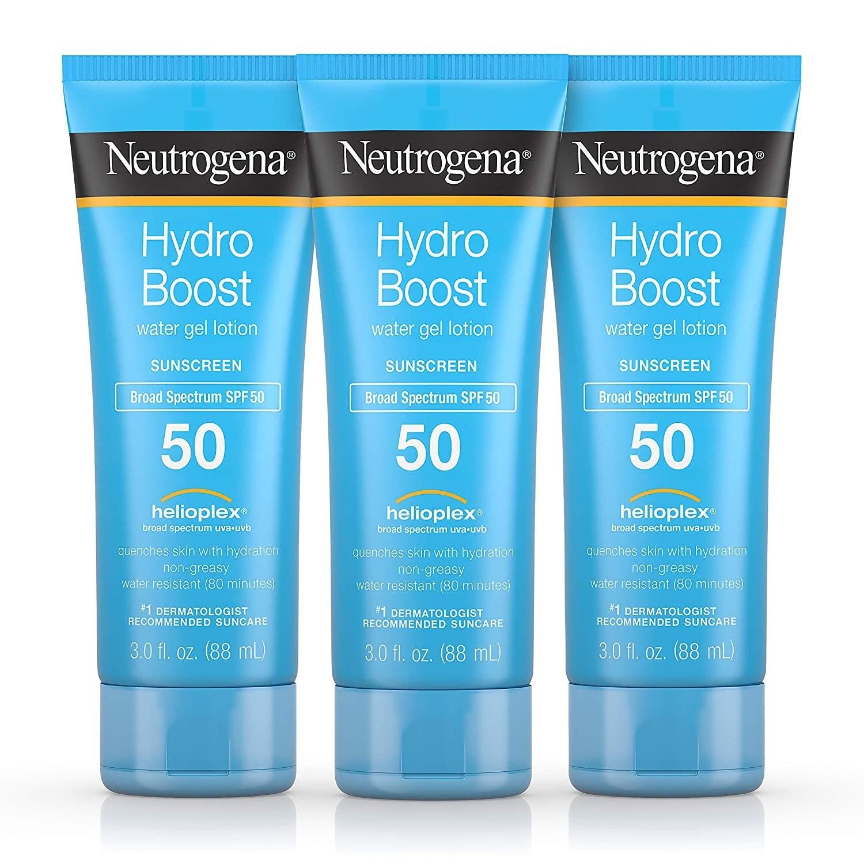 Neutrogena Hydro Boost Moisturizing Sunscreen