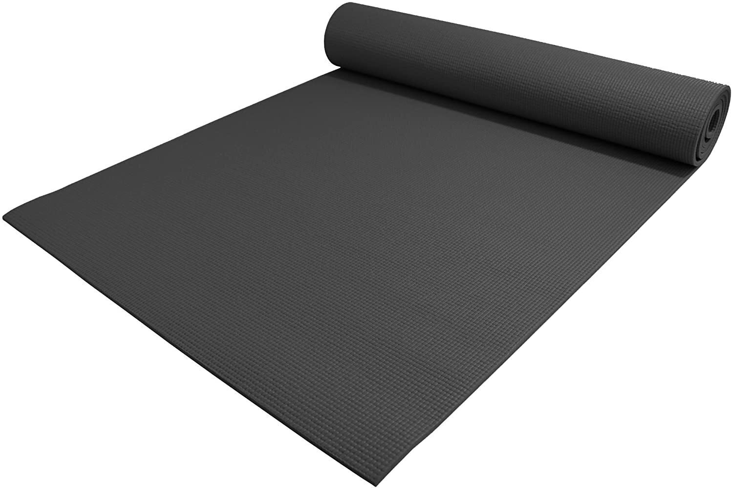 "YogaAccessories 1/4"" Thick Deluxe Yoga Mat"