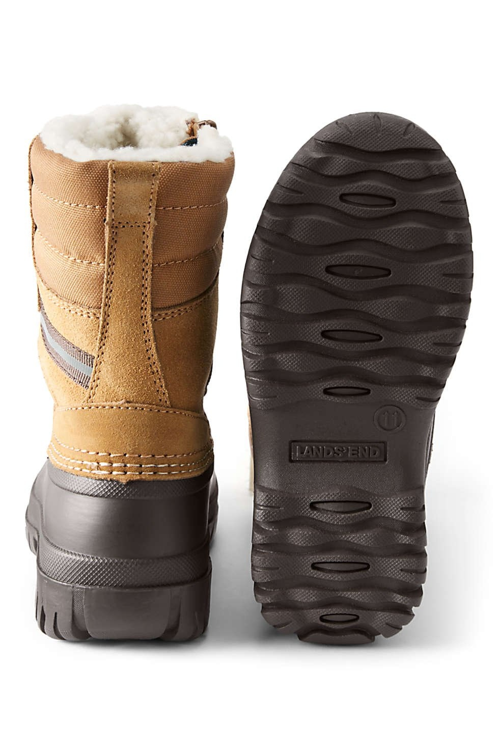 Lands End Kids Expedition Insulated Winter Snow Boots