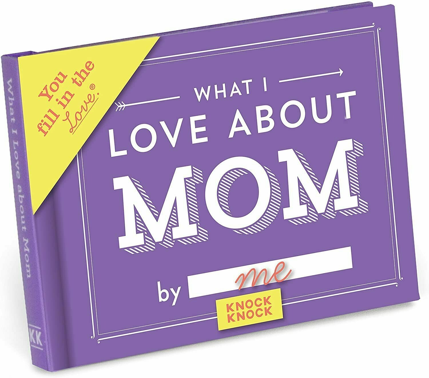 What I Love About Mom Fill-In-The-Blank Journal