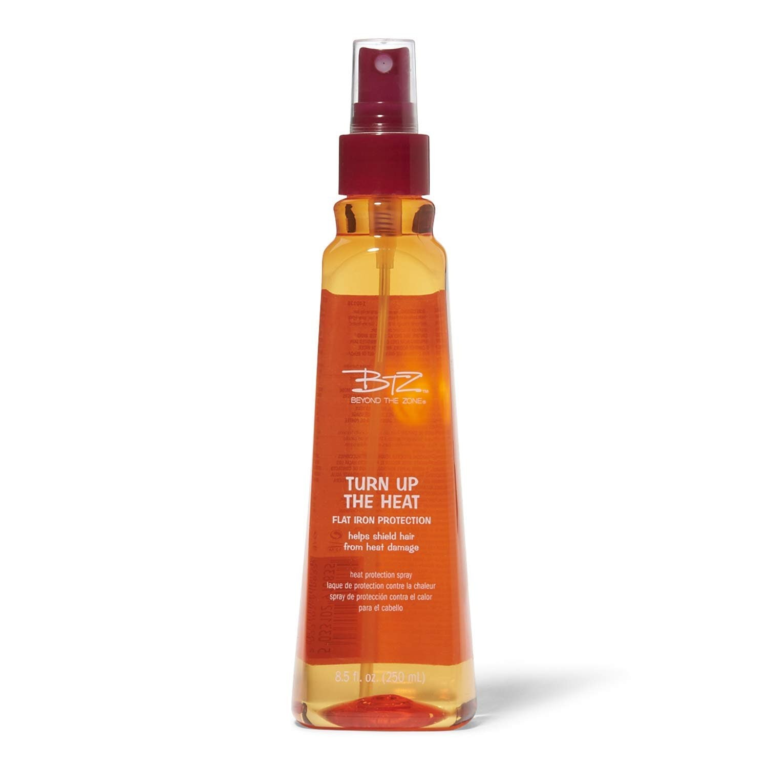 Turn Up the Heat by Beyond the Zone Flat Iron Protection Spray