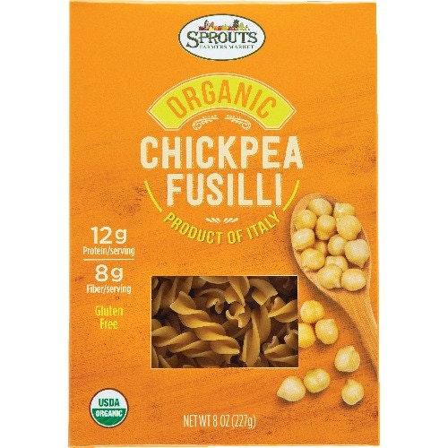Sprouts Organic Chickpea Fusilli