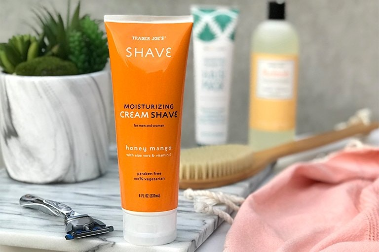 Trader Joe's Honey Mango Moisturizing Cream Shave