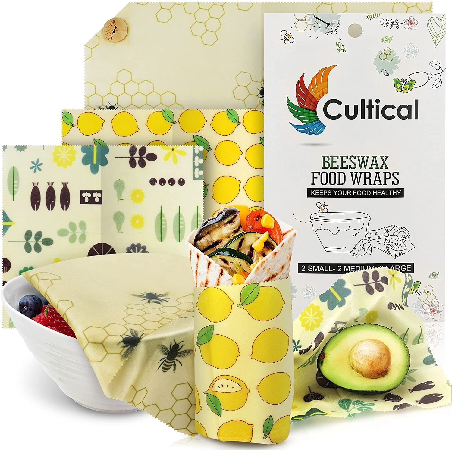 Cultical Beeswax Food Wraps