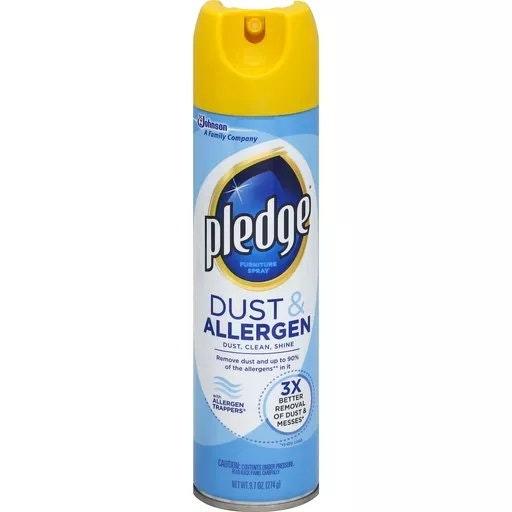 Pledge Dust & Allergen