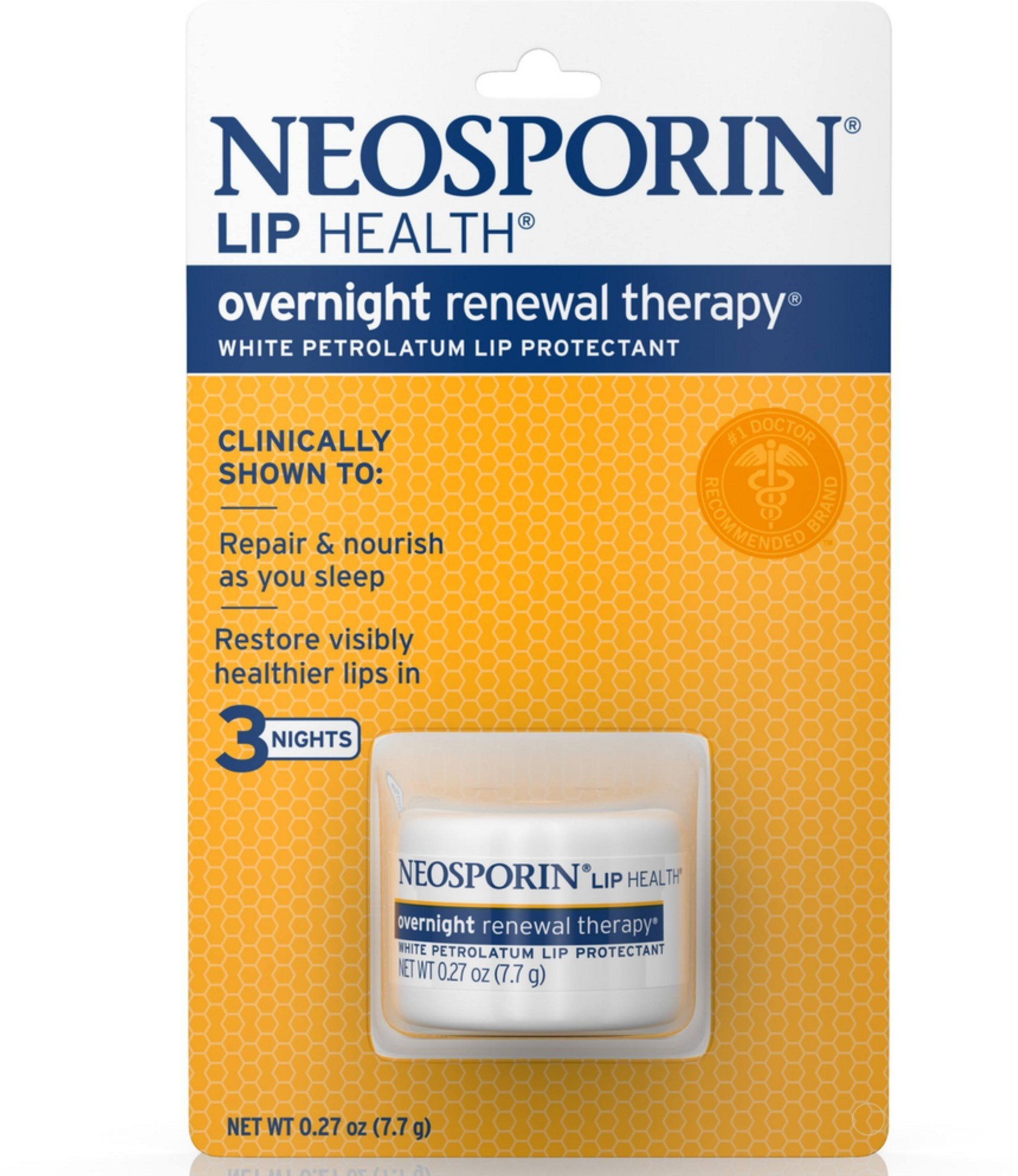 Neosporin Overnight Healthy Lip Renewal