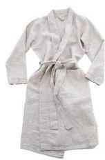 Rough Linen St. Barts Robe