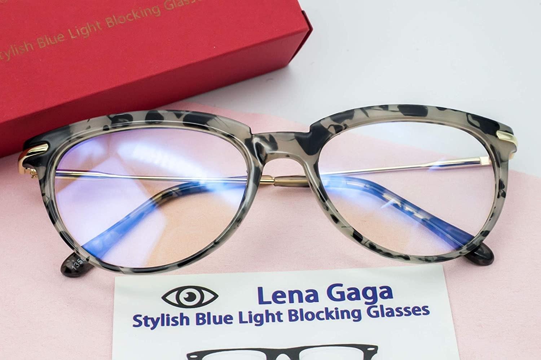 Lena Gaga Blue Light Blocking Glasses.