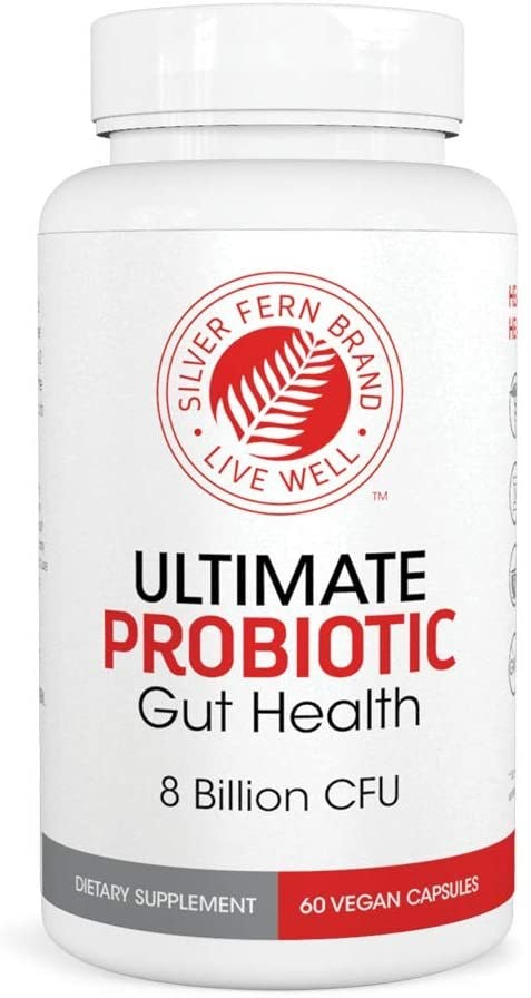 Silver Fern Ultimate Probiotic Supplement Vegicaps
