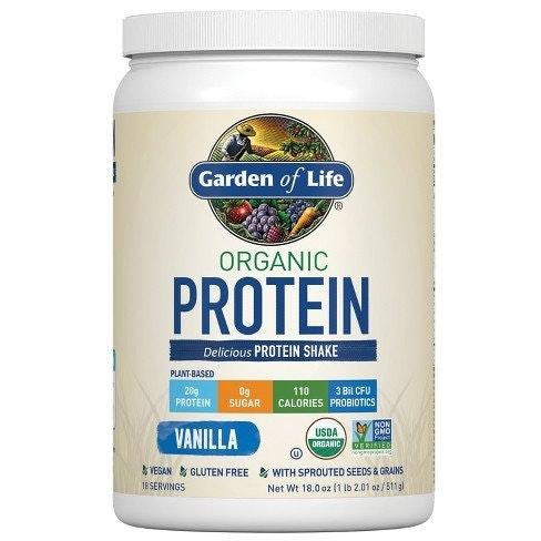 Garden of Life Organic Protein Shake Powder