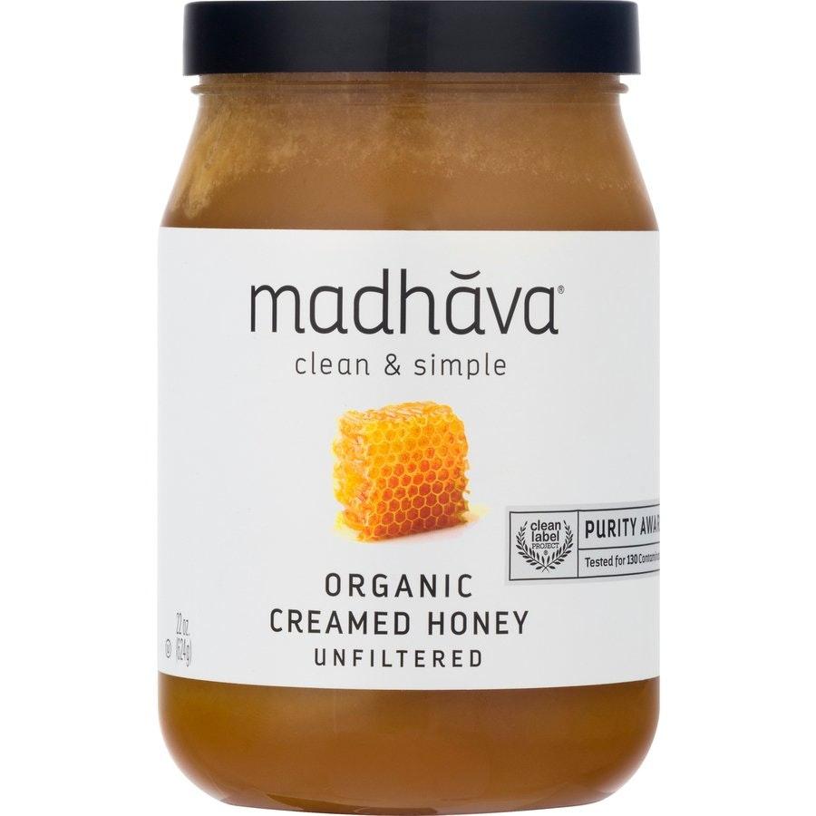 Madhava Organic Creamed Honey