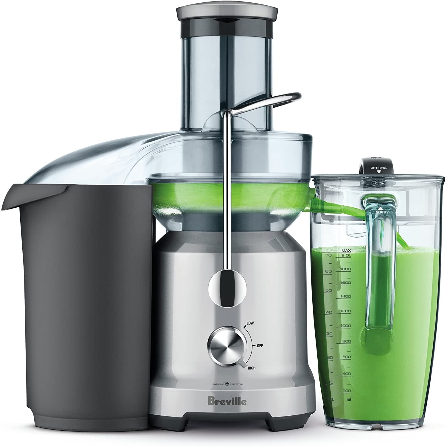 Breville Juice Fountain Cold Plus Stainless Steel Juicer