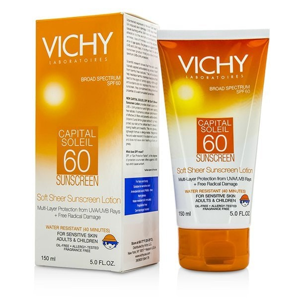 Vichy Capital Soleil Soft Sheer Sunscreen Spf 60