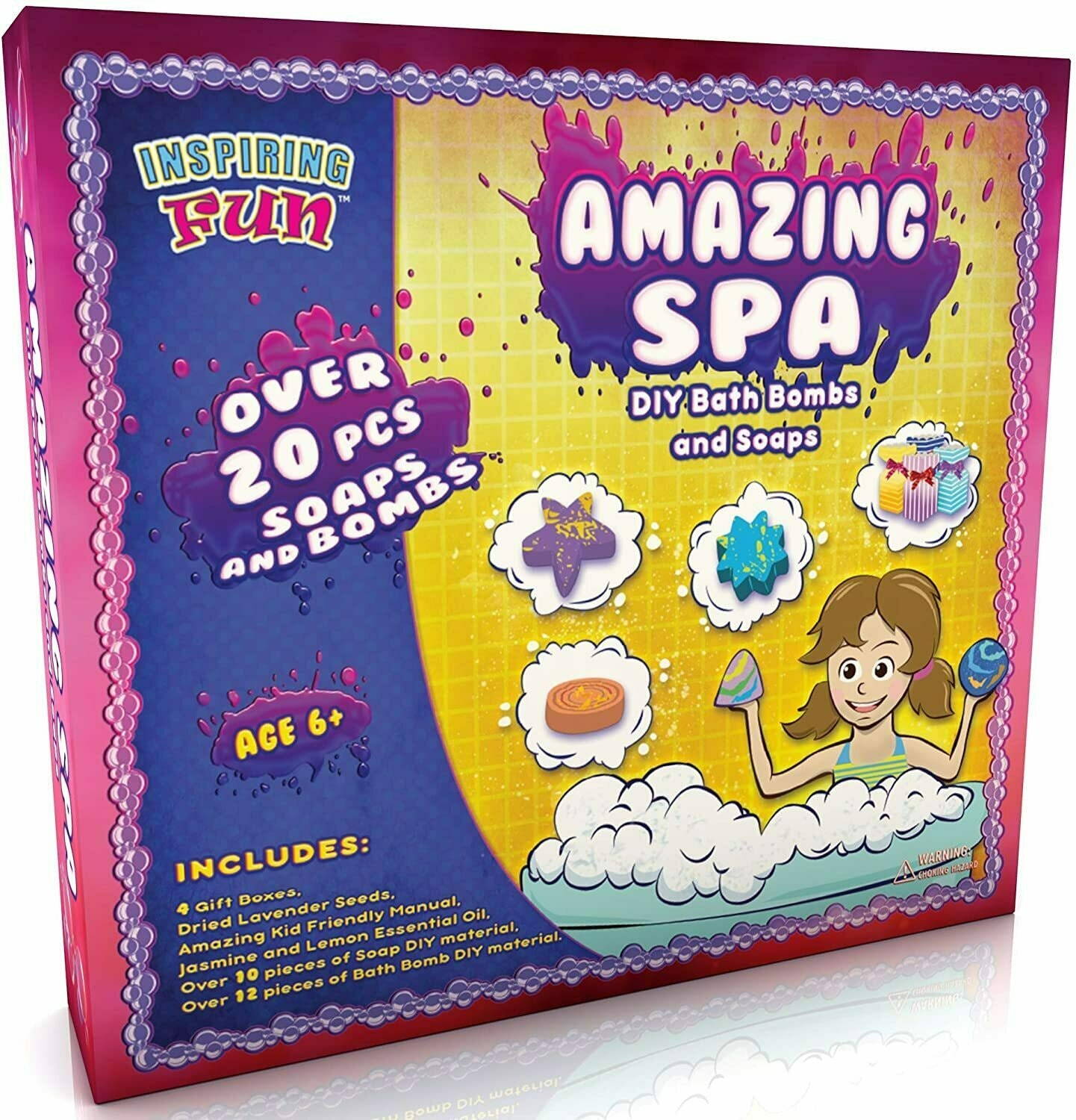Inspiring Fun Amazing Spa Kit